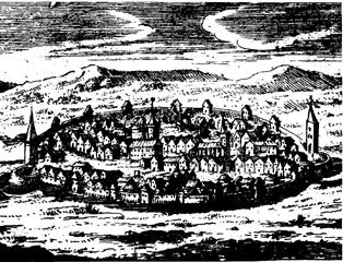 Cetatea veche a orasului Sebes